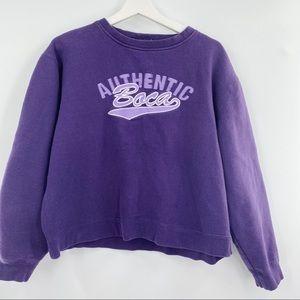Vintage authentic nova purple sweatshirt